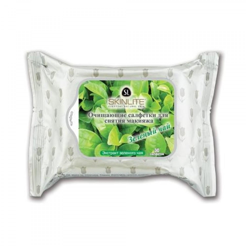Skinlite очищающие салфетки для снятия макияжа