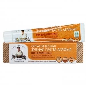 Витаминная зубная паста для здоровья десен