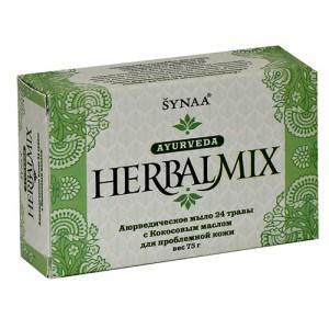 Аюрведическое мыло мыло для проблемной кожи 24 травы