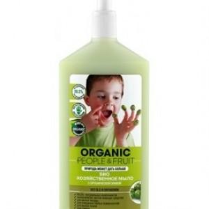 Био хозяйственное мыло с оливой