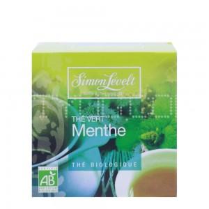 Чай Зеленый байховый ароматизированный Mint