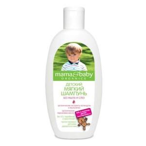 Детский мягкий шампунь без мыла и слез
