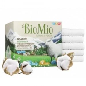Экологичный стиральный порошок для белого белья с экстрактом хлопка без запаха