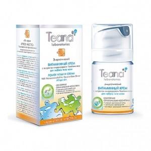 Энергетический витаминный крем с экстрактом микроводоросли