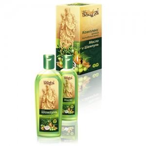 Комплекс против выпадения волос (масло+шампунь)