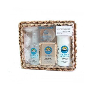 Подарочный набор в коробке из пальмы Пандан
