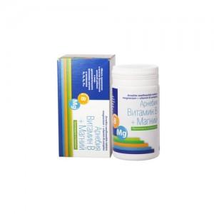 Витамин B + Магний таблетки для рассасывания 60 штук