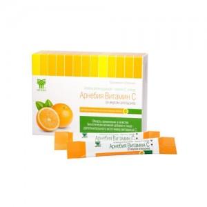 Витамин С со вкусом апельсина растворимый порошок для приготовления напитка