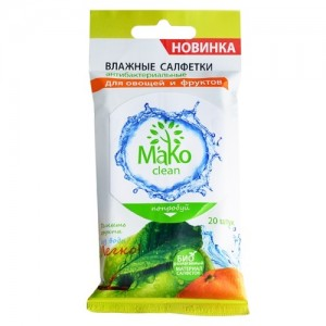 Влажные салфетки MaKo clean
