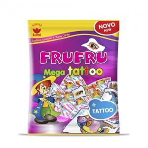 Жевательные конфеты Мега тату с наклейками