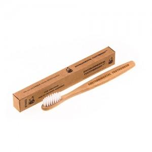 Зубная щетка из натурального бамбука мягкая Mini детская
